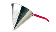CHINESE STRAINER WITH MESH PLASTIC HANDLE